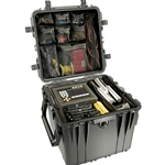 Pelican Protector Cube Case 0340 With Adjustable Padded Dividers
