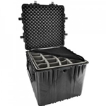 Pelican Protector Cube Case 0370 With Adjustable Padded Dividers
