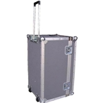Atlas ATA Multiple Laptop Case LPT-ATA2716-18HTW With 2 Recessed Edge Casters and Optical Telescoping Handle