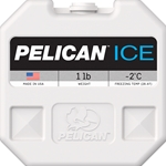 Pelican ProGear Elite Cooler PI-1lb Blow-Molded Ice Pack
