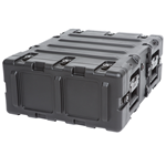"SKB 20"" Deep Static 3U Shock Mount Rack Case 3RS-3U20-22B"