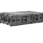 "SKB 24"" Deep Static 3U Shock Mount Rack Case 3RS-3U24-25B"