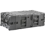 "SKB 24"" Deep Static 5U Shock Mount Rack Case 3RS-5U24-25B"
