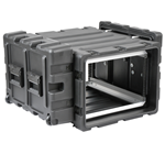 "SKB 24"" Deep Static 7U Shock Mount Rack Case 3RS-7U24-25B"