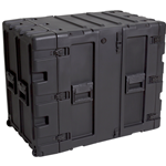 "SKB 24"" Deep Static 14U Shock Mount Rack Case 3RS-14U24-25B"