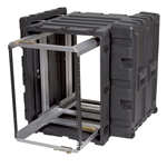 "SKB 24"" Deep Removable 14U Shock Mount Rack Case 3RR-14U24-25B"