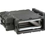 "SKB 30"" Deep Removable 3U Shock Mount Rack Case 3RR-3U30-25B"