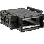 "SKB 30"" Deep Removable 4U Shock Mount Rack Case 3RR-4U30-25B"