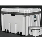 Parker Plastics Shipping Container with Recessed Edge Casters SW 2424-17