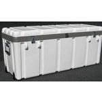 Parker Plastics Shipping Container with Recessed Edge Casters SW 4114-16