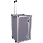 Atlas ATA Standard Footlocker Style Case with Telescoping Handle and Wheels ATA 2422-12H