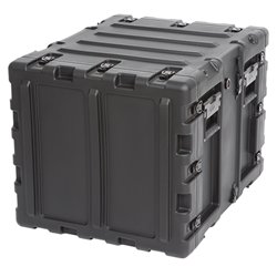 "SKB 20"" Deep Static 9U Shock Mount Rack Case 3RS-9U20-22B"
