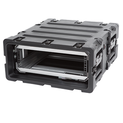 "SKB 20"" Deep Removable 3U Shock Mount Rack Case 3RR-3U20-22B"