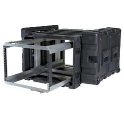 "SKB 24"" Deep Removable 7U Shock Mount Rack Case 3RR-7U24-25B"