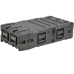 "SKB 30"" Deep Static 4U Shock Mount Rack Case 3RS-4U30-25B"