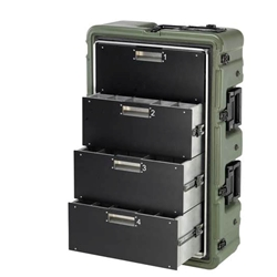 Pelican Hardigg Medchest 4 Drawer Case 472-MEDCHEST3-4D