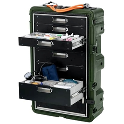 Pelican Hardigg Medchest 8 Drawer Case 472-MEDCHEST3-8D