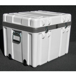 Parker Plastics Shipping Container with Recessed Edge Casters SW 2318-17