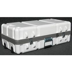 Parker Plastics Shipping Container with Recessed Edge Casters SW 2814-10