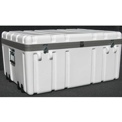 Parker Plastics Shipping Container with Recessed Edge Casters SW 3425-16