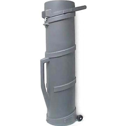 "Roto Molded Wheeled Tube Case 74"" Tube"