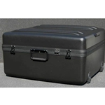 Parker Plastics Deluxe Tote Wheeled Case DX-2421-12-W Layer Foam Filled