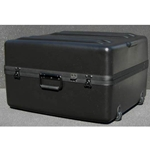 Parker Plastics Deluxe Tote Wheeled Case DX-2421-14-W Layer Foam Filled