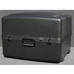 Parker Plastics Deluxe Tote Wheeled Case DX-2421-16-W Empty No Foam