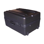 Parker Plastics Deluxe Tote Wheeled Case DX-2719-14-W Empty No Foam