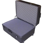 Parker Plastics Deluxe Tote Wheeled Case DX-2719-14-W Layer Foam Filled