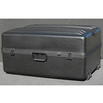 Parker Plastics Deluxe Tote Wheeled Case DX-3023-14-W Empty No Foam