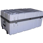 Parker Plastics Shipping Container Multiple Laptop Case LPT-SW3518-15 With 2 Recessed Edge Casters
