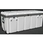 Parker Plastics Shipping Container Multiple Laptop Case LPT-SW4114-16 With 2 Recessed Edge Casters