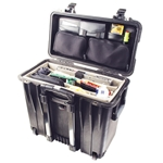 Pelican Protector Top Loader Case 1440 With Adjustable Padded Office Dividers and Lid Organizer