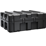 Pelican Hardigg AL (All Latch) Shipping Case AL3424-0805 Empty No Foam w/ Casters