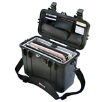 Pelican Protector Top Loader Case 1430 With Adjustable Padded Office Dividers and Lid Organizer
