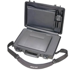 Pelican Protector Laptop Computer Case 1490CC2 With Foam Bottom and Lid Organizer