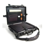 Pelican Protector Laptop Computer Case 1495CC1 With Computer Insert and Lid Organizer