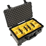 Pelican Protector Carry On Case 1510 With Adjustable Padded Dividers