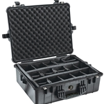 Pelican Protector Case 1600 With Adjustable Padded Dividers